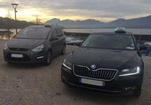 Vos véhicules pour votre transport en Taxi à Aix-les-Bains